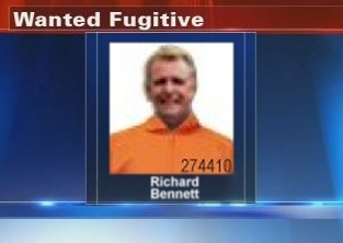 Wanted Fugitive Richard Bennett