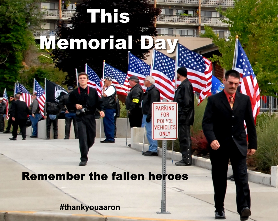 This Memorial Day remember the fallen heroes thankyouaaron